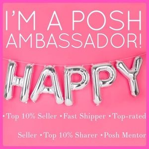 So excited to announce that I'm a posh ambassador!